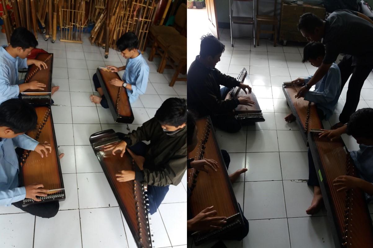 Kegiatan Ekstrakurikuler - Alat Musik Tradisional Sunda Kacapi