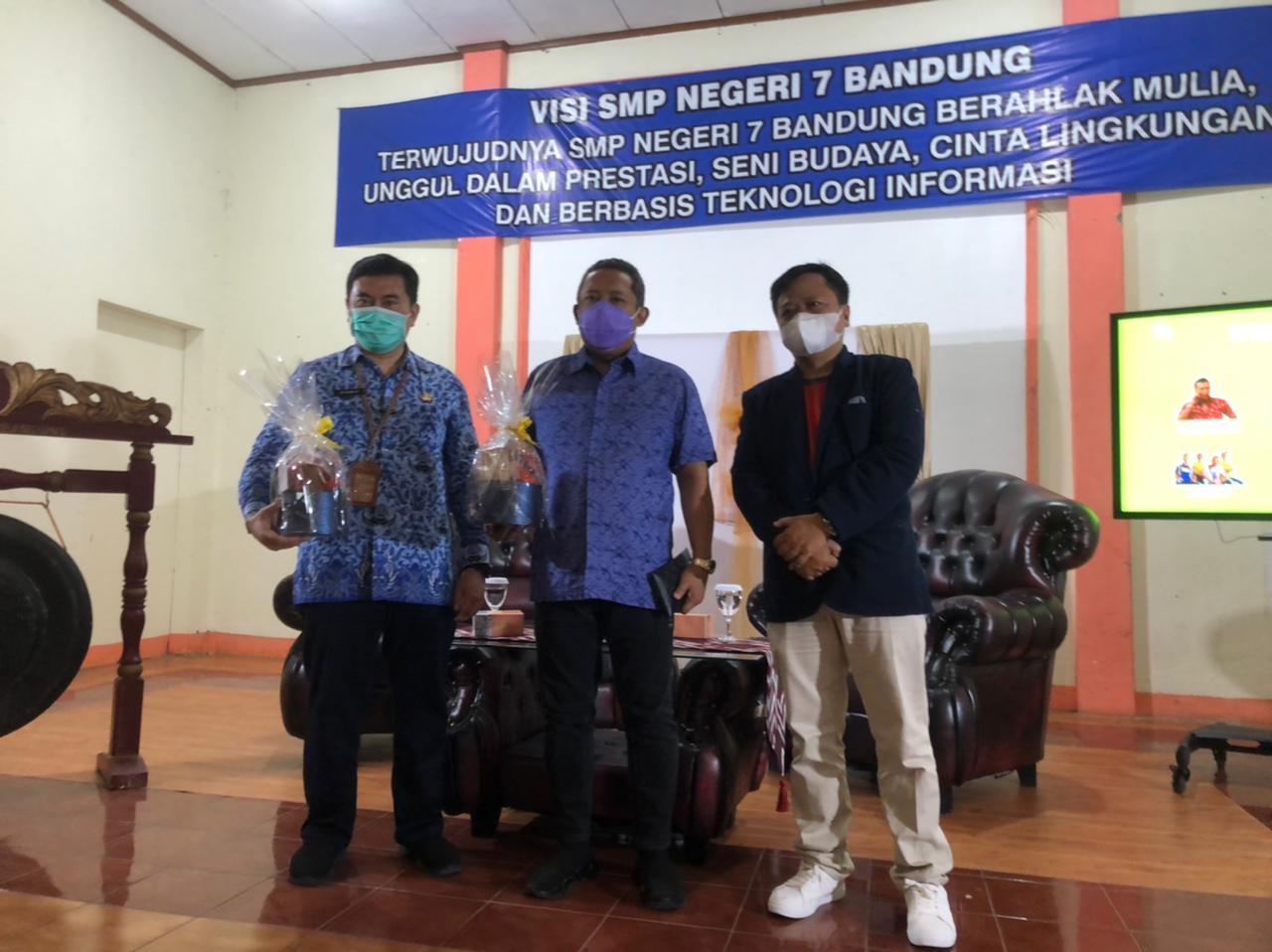 Kunjungan Kerja dari Bapak Wakil Wali Kota dan Kadisdik Kota Bandung