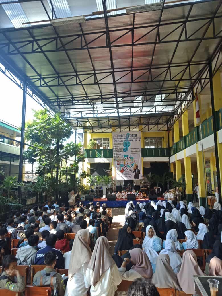 Kegiatan Pensi SMP Muhammadiyah 3