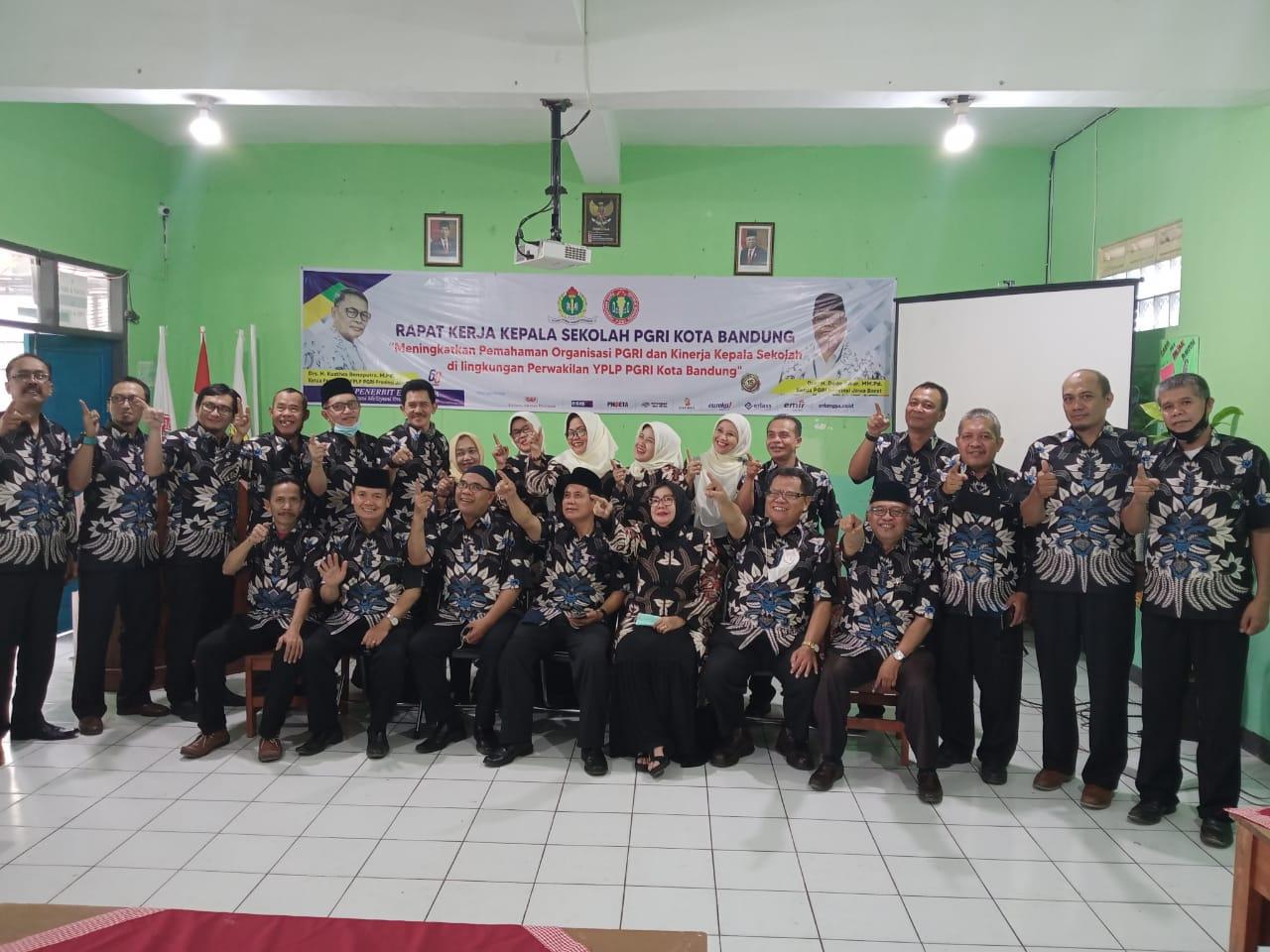 Raker Kepala Sekolah PGRI Kota Bandung