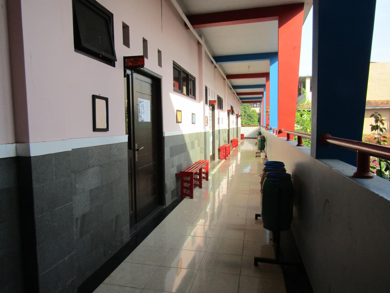 Foto Koridor Kelas