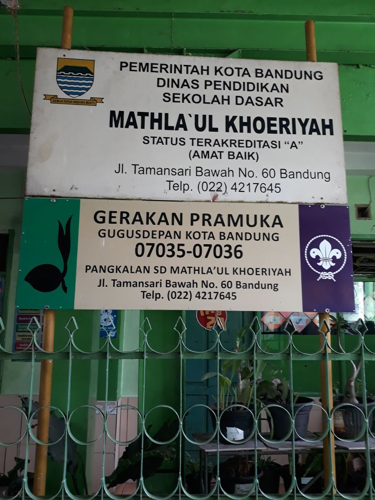 SD MATHLAUL KHOERIYAH