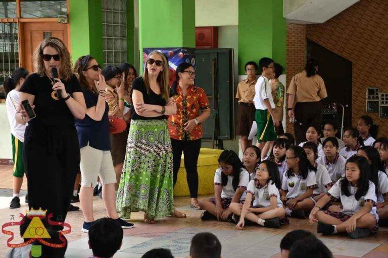 Kegiatan Sister School dengan sekolah dari Australia