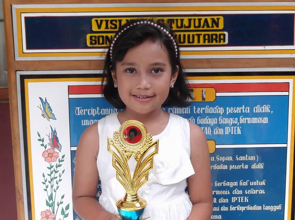 Keg. FLS2N Tk Kec. Bacip 2014 Ananda Fika Juara 2 Menyanyi Solo