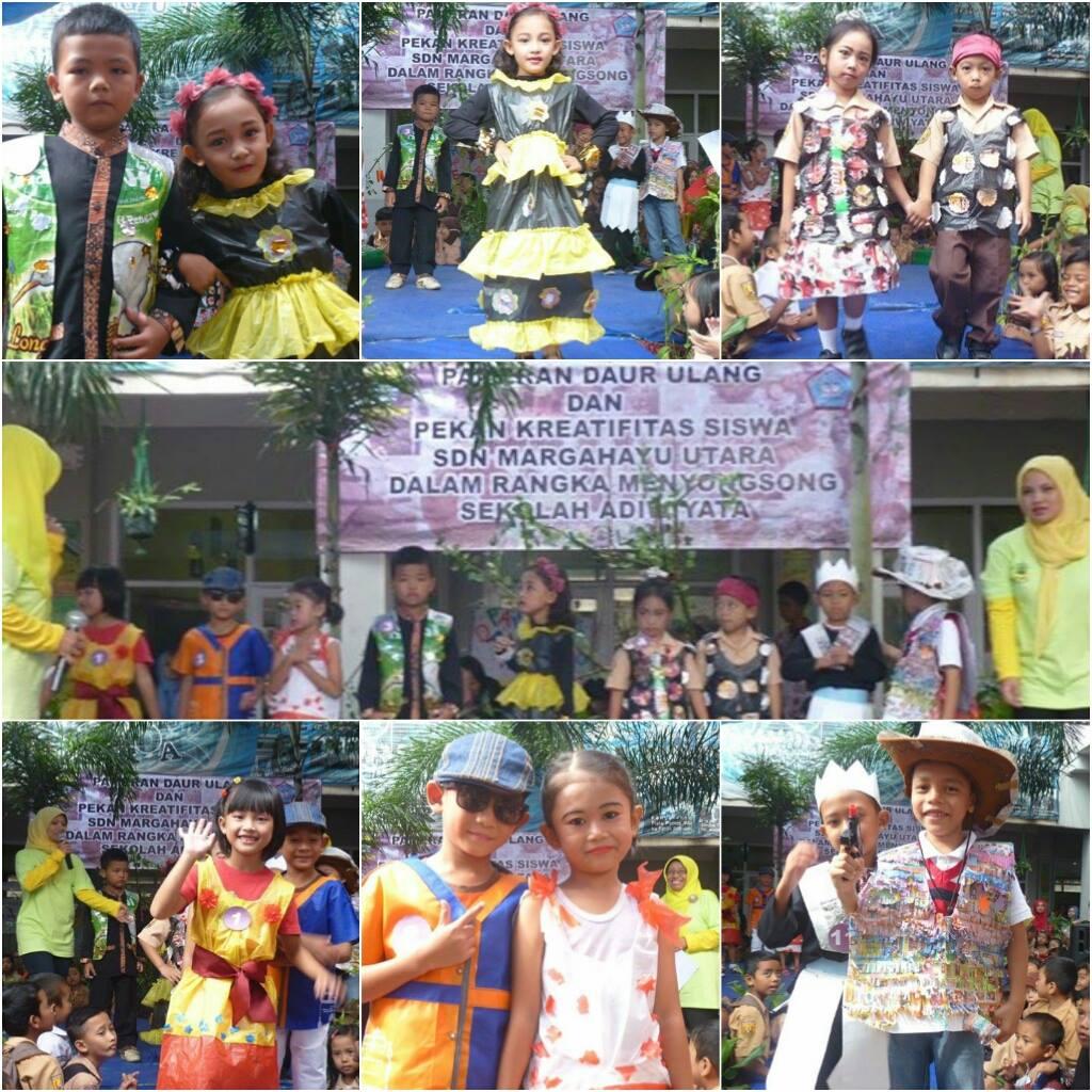 Pekan Kreativitas Siswa Fashion Show Daur Ulang Dalam Menyongsong Sekolah Adiwiyata