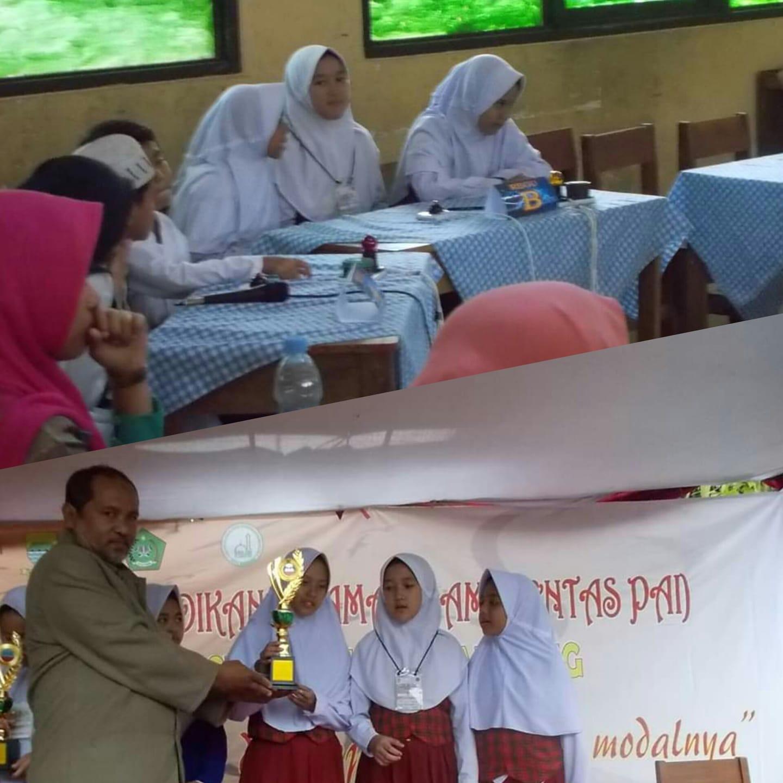 Ananda Puji Latifah Dwi Aryanti, Nyimas & Azmiranti Mutia Juara 1 LCC Pentas PAI Tk. Kec Bacip 2019