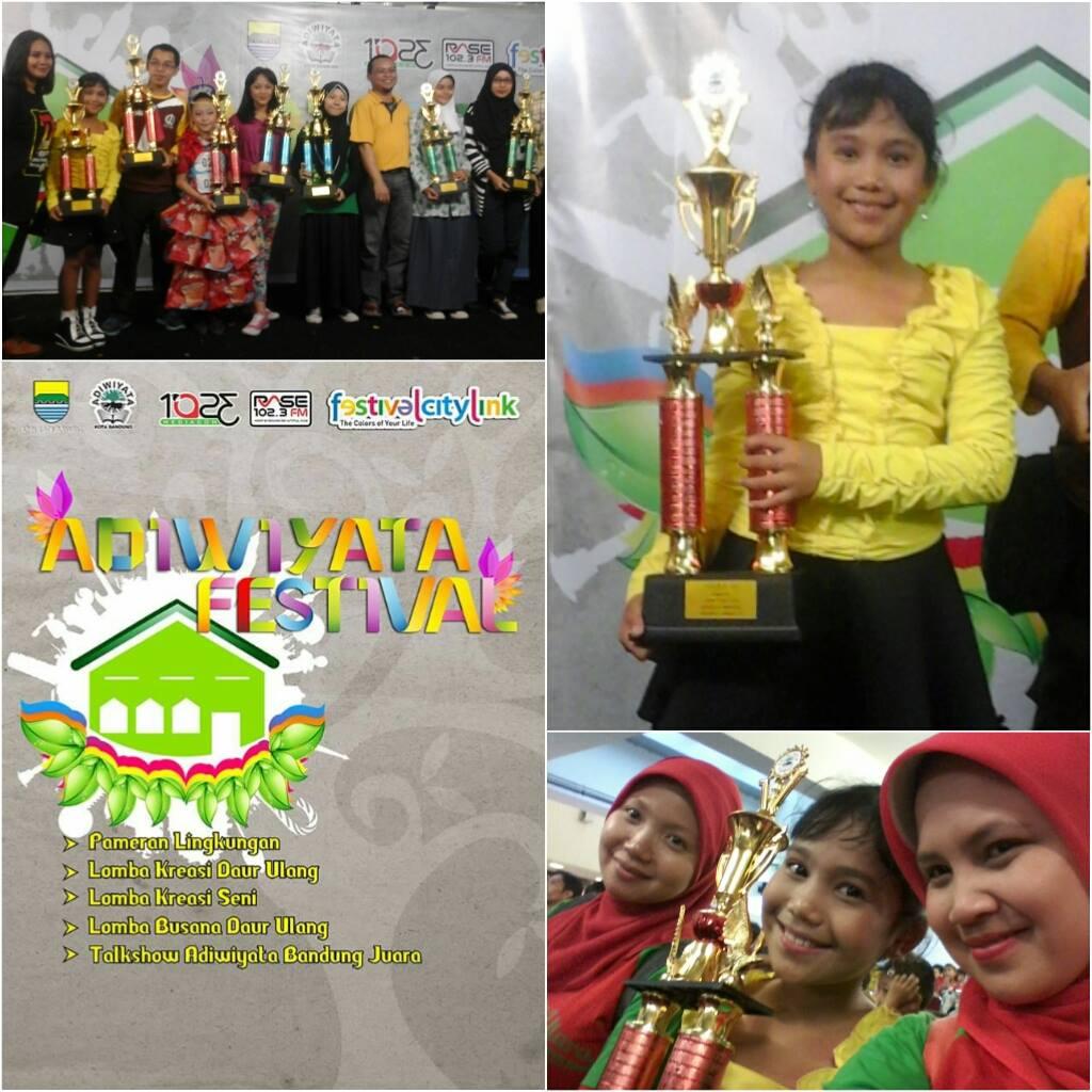 Kegiatan Lomba Kreasi Seni Adiwiyata Kota Bandung 2015