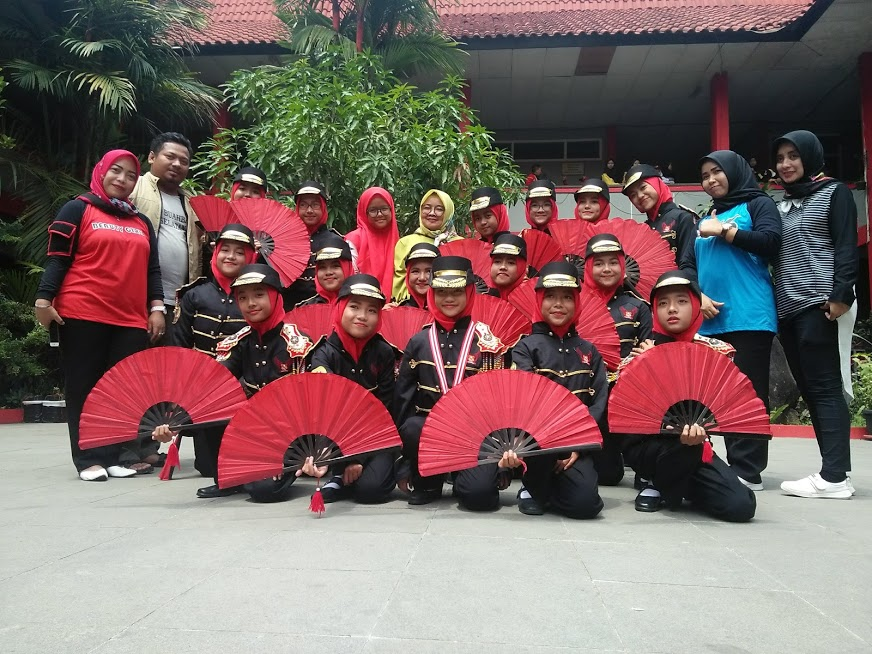 Kegiatan lomba LKBB Tingkat Bandung Raya yang diselenggarakan oleh SMP Telkom Kab. Bandung
