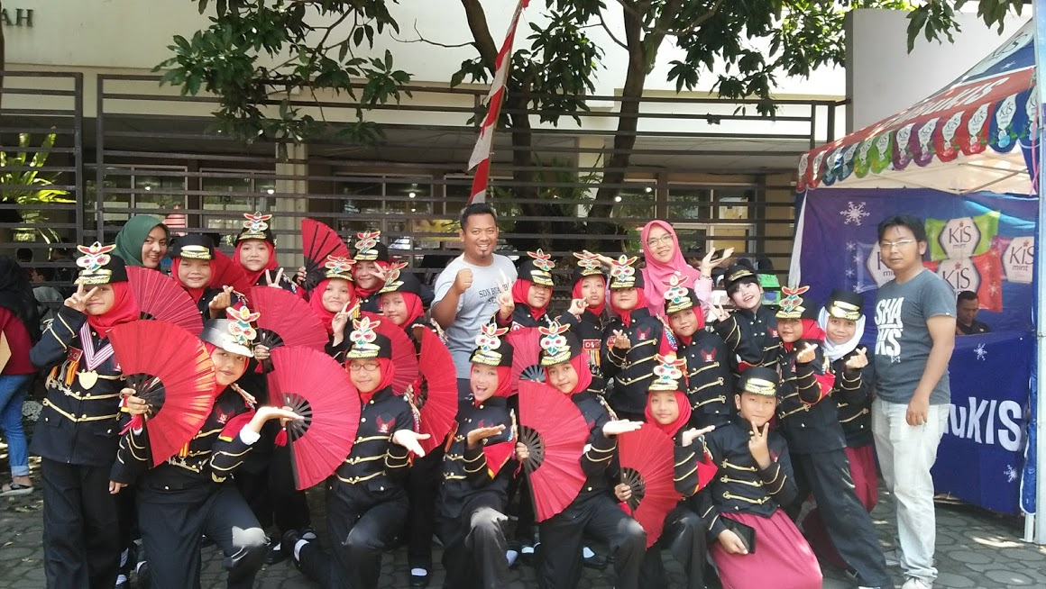 Kegiatan lomba LKBB tingkat Nasional yang diselenggarakan oleh SMP BPI Kota Bandung