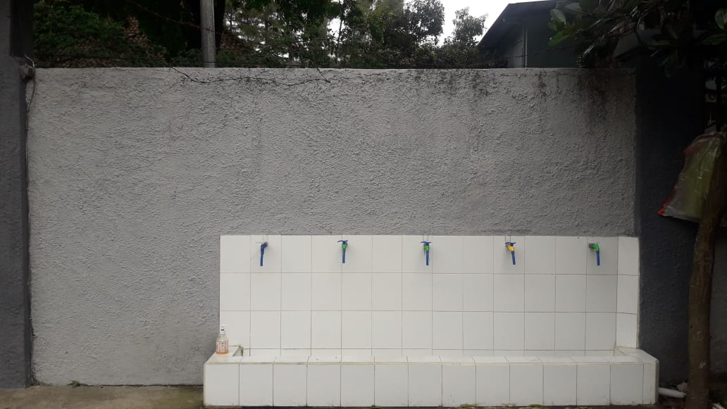 Tempat Cuci Tangan depan