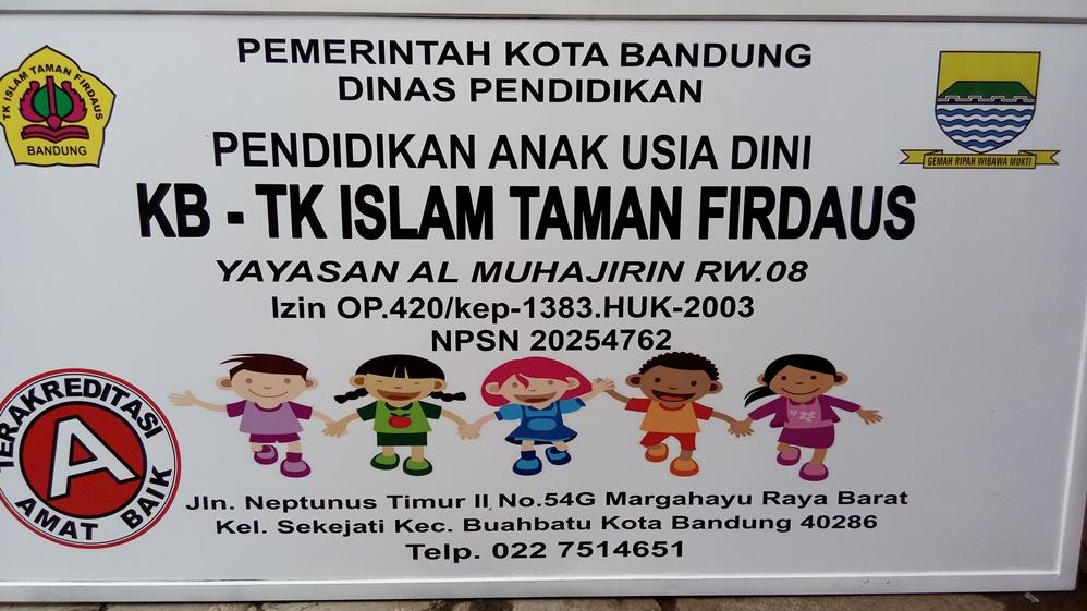 PLANG TK ISLAM TAMAN FIRDAUS