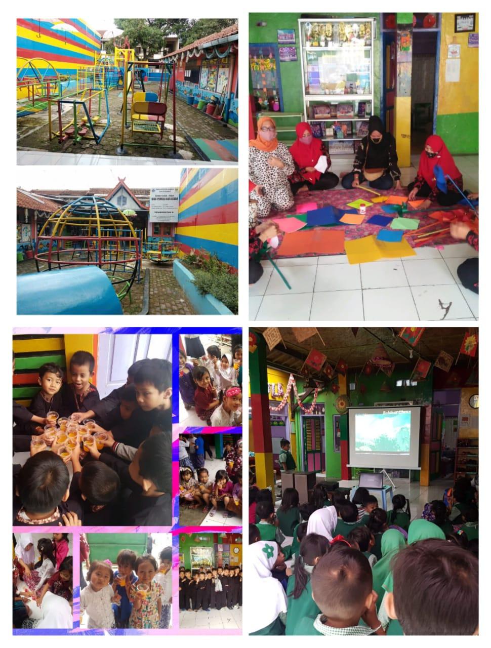 Foto Kegiatan dan Halaman Sekolah TK