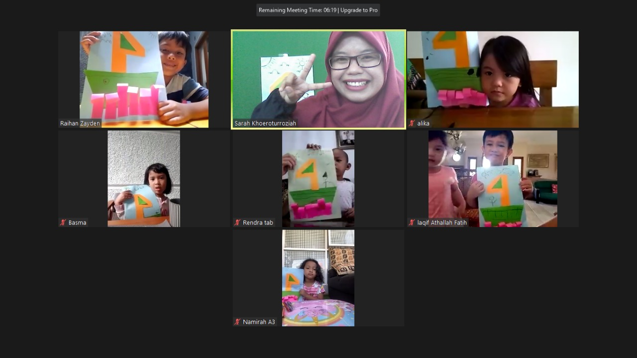 zoom meeting siswa dan guru