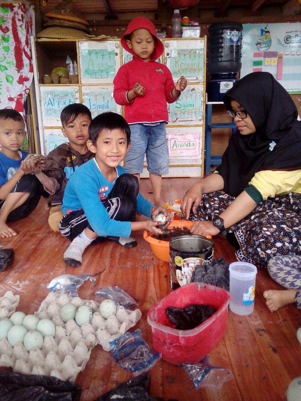 Pembuatan Telur Asin