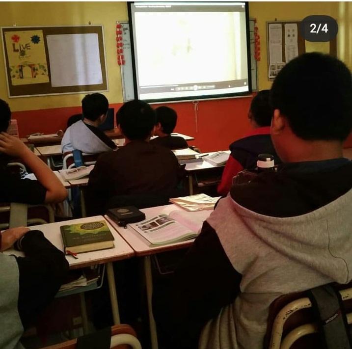 Salah Satu Kegiatan Pembelajaran di Dalam Kelas