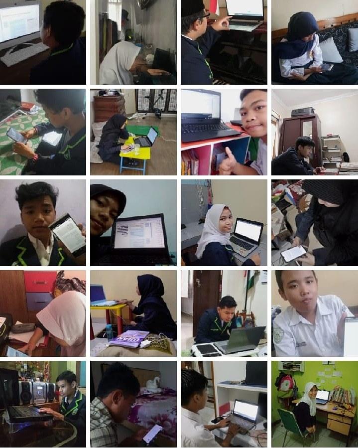Kegiatan Bahtera E-Learning Selama Pembelajaran Jarak Jauh