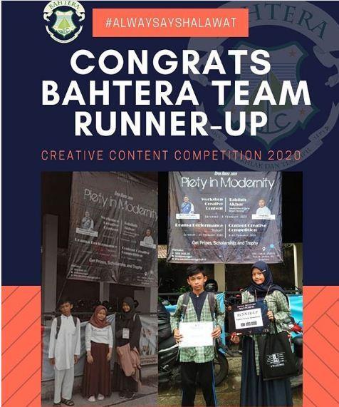 Kegiatan Juara Kompetisi Creative Content