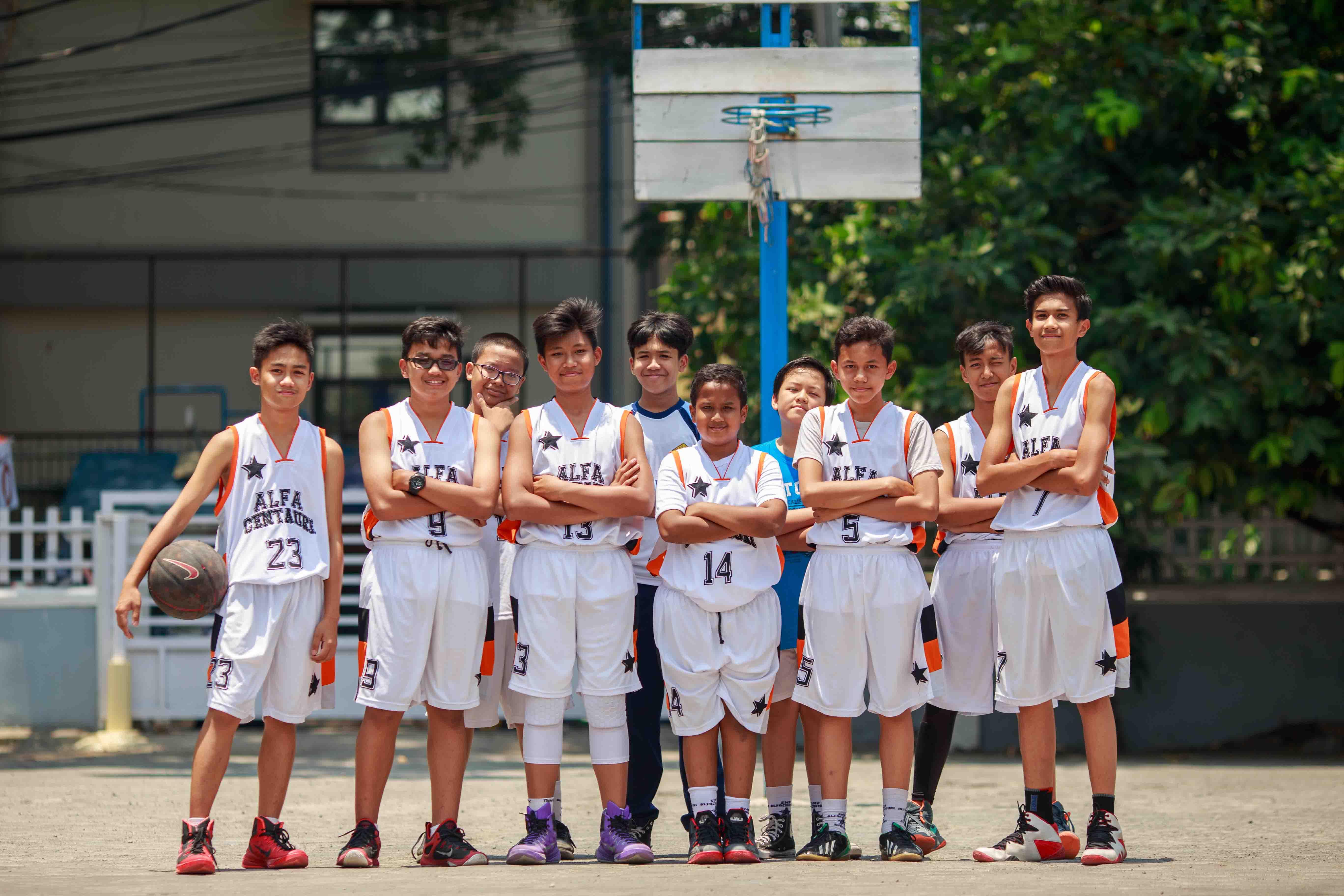 Ekskul Basket SMP Alfa Centauri