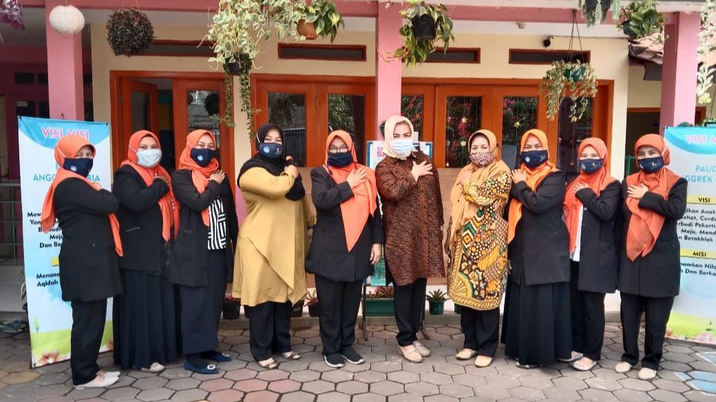 Kunjungan penilik kecamatan cibiru