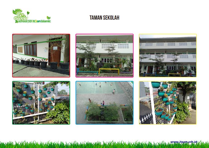 Gedung dan Taman Sekolah