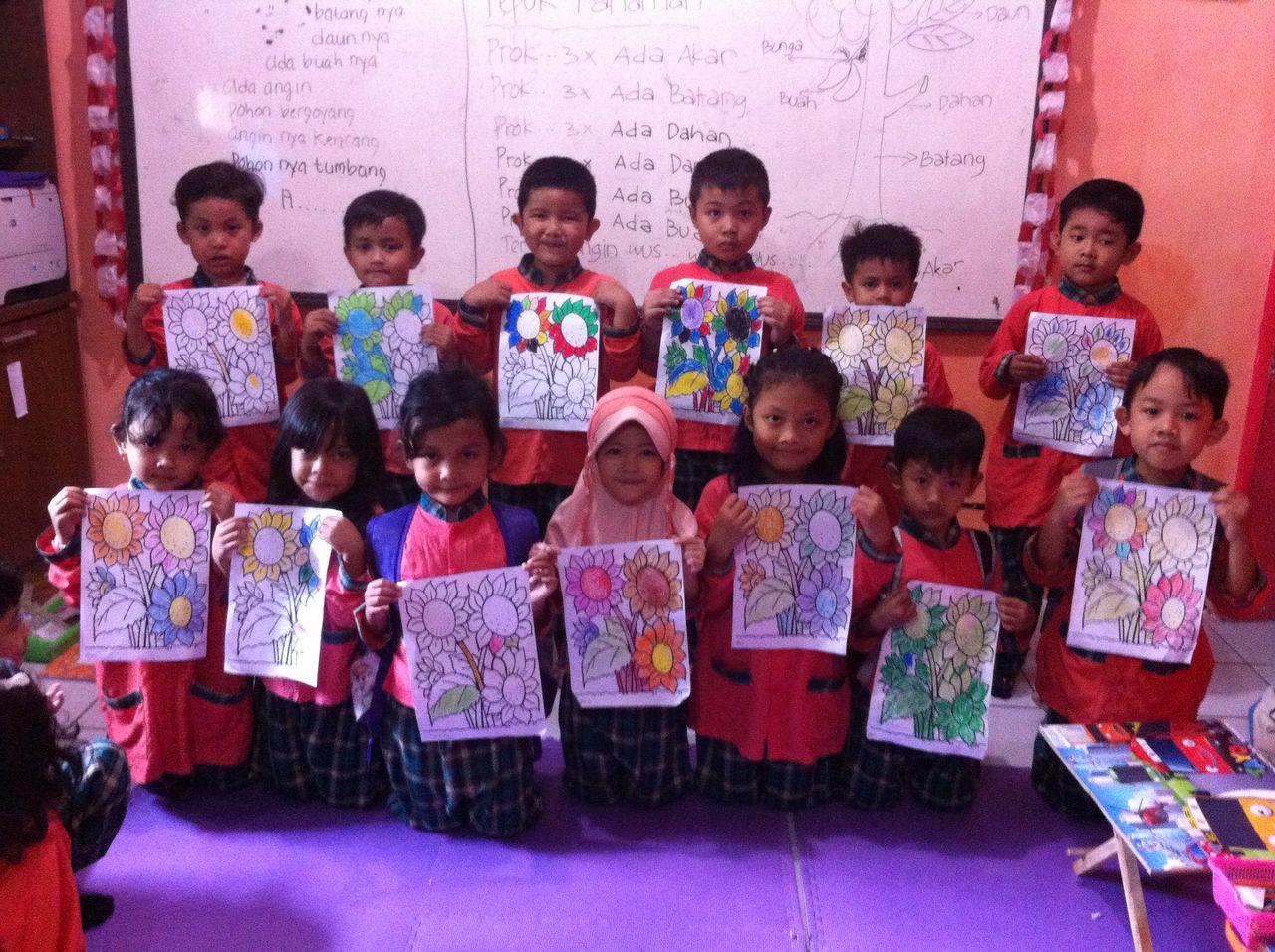 Kegiatan Kreatifitas anak