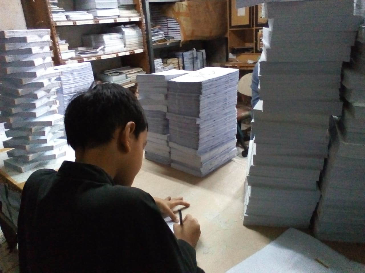 Berkunjung kepercetakan pustaka ramadhan, 2019